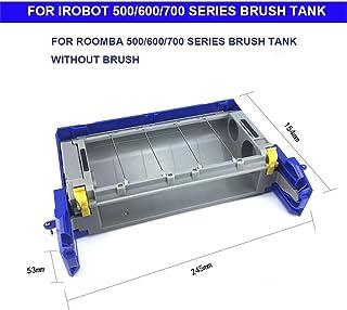 Webla Accessoires pour aspirateurs, accessoire avancé pour têtes de nettoyage pour aspirateur Roomba irobot série 500/600/700, gris