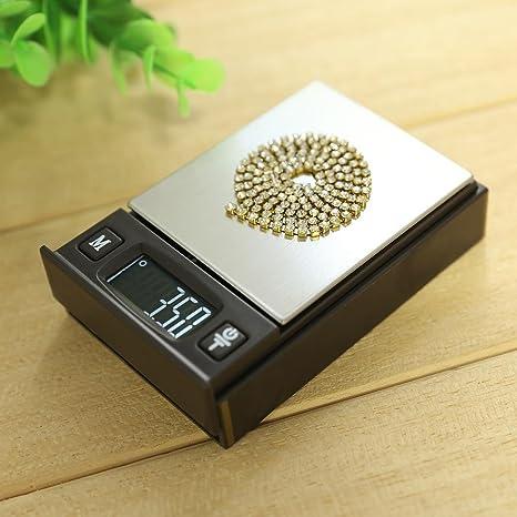 Básculas de Cocina, Ecotrumpuk Báscula digital de precisión para cocina, tamaño mini