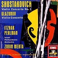 Shostakovich: Violin Concerto No. 1 / Glazunov: Violin Concerto