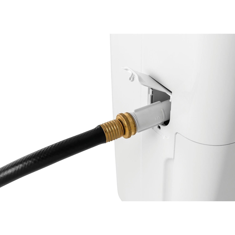 frigidaire dehumidifier hose not draining