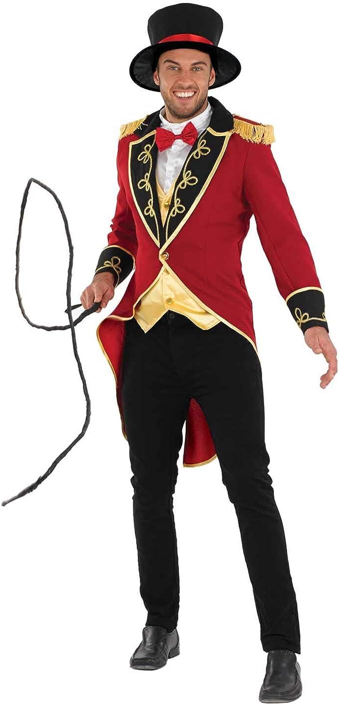 Fun Shack Rojo Maestro De Ceremonias De Circo Disfraz para Hombres ...
