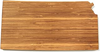 """product image for AHeirloom State of Kansas Cutting Board, 16"""", Amber"""