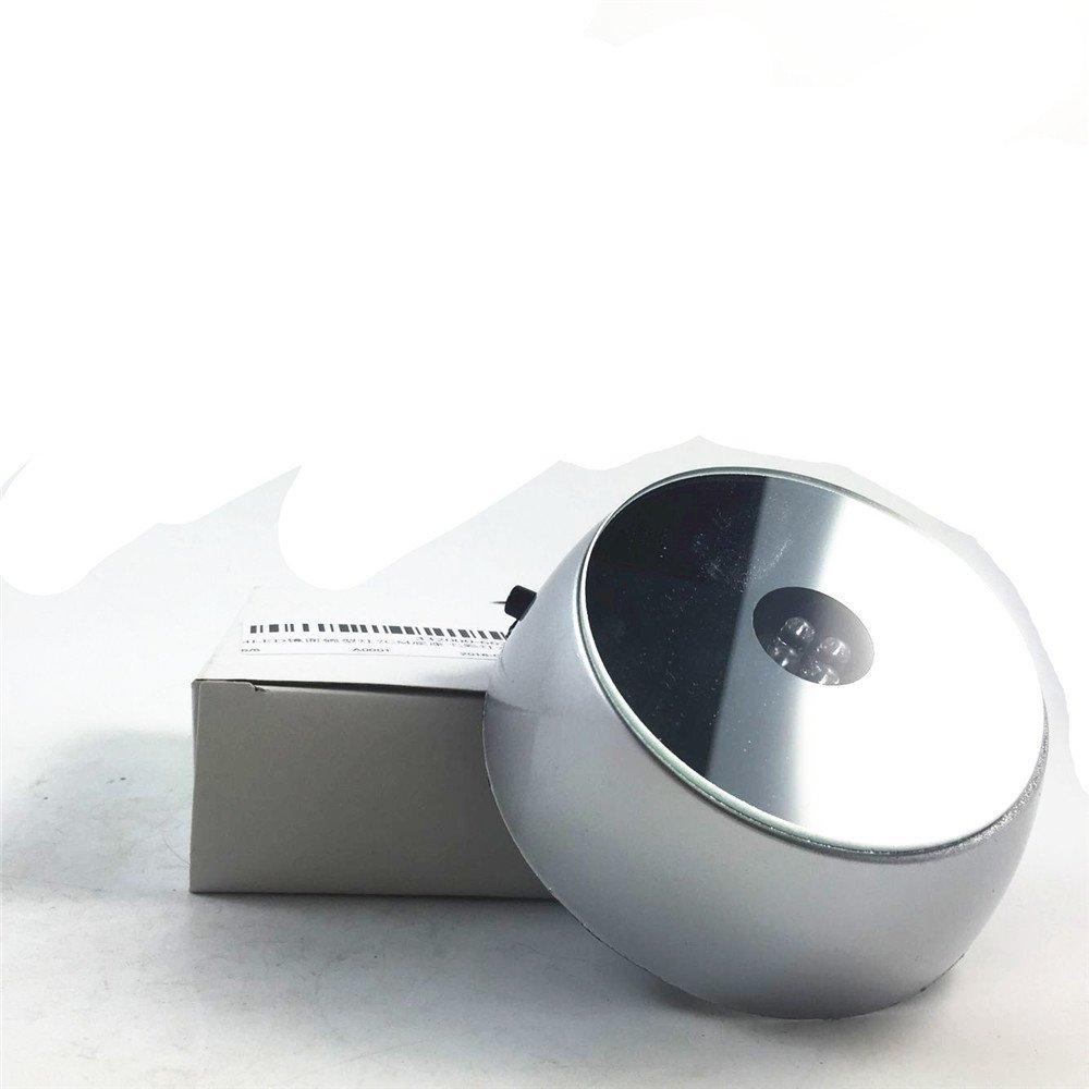 Cristal Base circular LED de cristal Adornos batería eléctrica Light Up soporte de la base DOREKIN