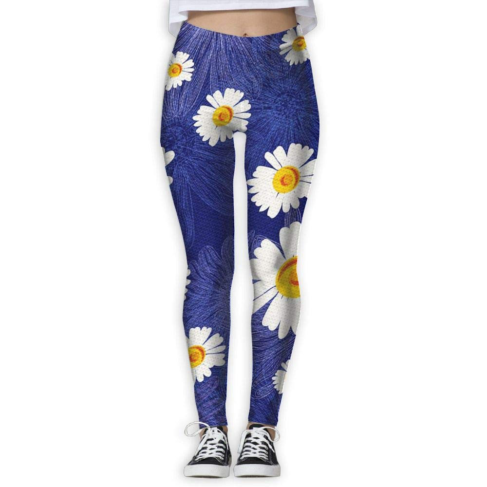014db57e11 Amazon.com : 15DIW Plant Flower Print Yoga Leggings Full Length Yoga Pants  Gym Fitness Joggers : Sports & Outdoors