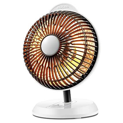 Heater Calentadores, hogar pequeña Estufa Solar, Mini electrodomésticos de bajo Consumo 200w