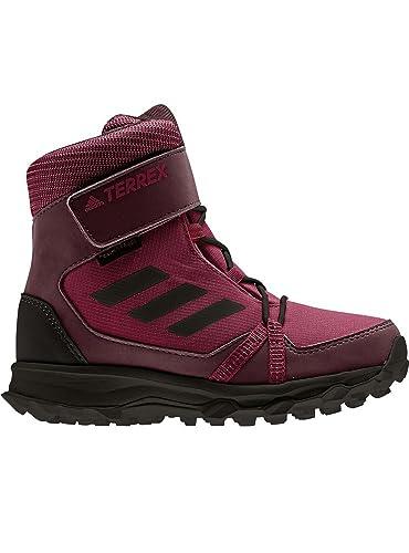 big sale 30d3d d002e Adidas Unisex-Kinder Terrex Snow Cf Cp Cw K Trekking- Wanderstiefel,  Mehrfarbig