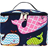 Sea Summer Whale Print NGIL Cosmetic Case