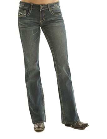 10c2b5bddd2 Cowgirl Tuff Women's Don't Fence Me in Jeans at Amazon Women's Jeans ...