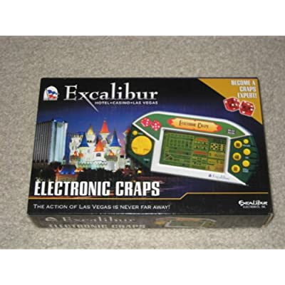 Electronic Craps by Excalibur: Toys & Games