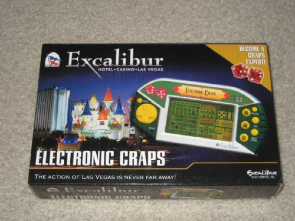 【新作入荷!!】 [エクスカリバー]Excalibur Electronic Craps by 474-EXC [並行輸入品] B0037UKSNO, 園芸用土のイワモト d6785d2d