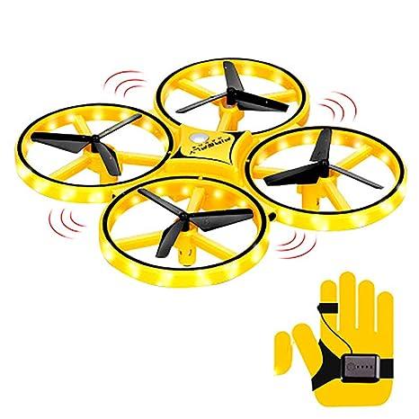 PORJH UFO Juguete Volador de Bola, RC Mini Drone, helicóptero de ...