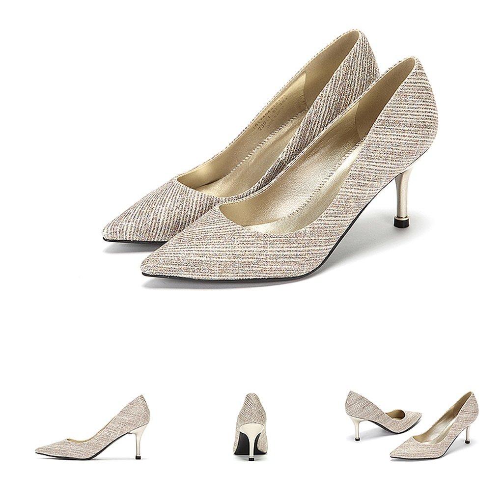Damen High High High Heels Herbst Trend Elegante Schuhe 79d37b