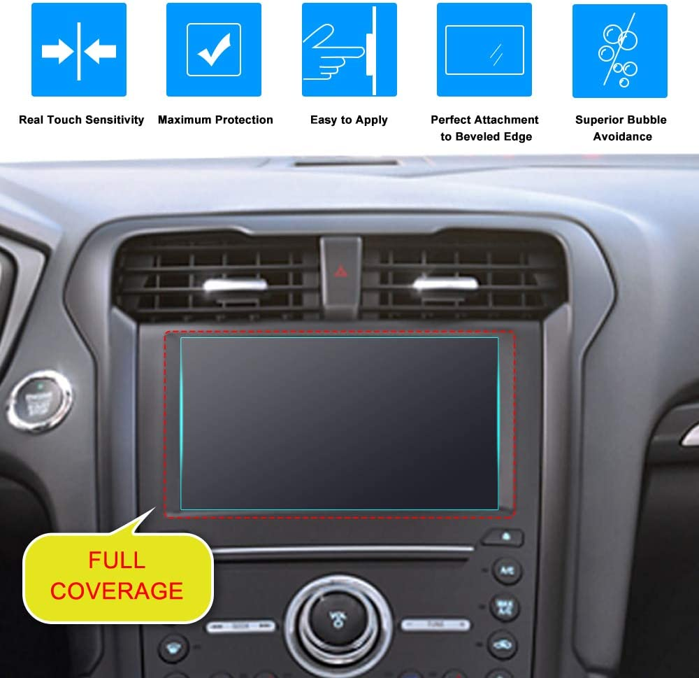 1-Pack Anti-Glare Matte Film Screen Protector J/&D Compatible for 2014-2019 Ford Escape//2015-2019 Ford Explorer//2016-2019 Ford Fiesta//2019-2020 Ford Ranger 8 inch Car Navigation Screen Protector