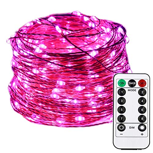 Pink Led Christmas Lights With White Wire