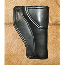 "Gary C's Avenger RH Leather Holster for the Colt 1858 Army Black Powder Pistol. Colt, Pietta, Uberti and other clones 5-1/2"" Barrel, Blackpowder"
