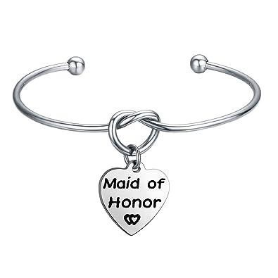 ENSIANTH Godmother Bangle Bracelet Godmother Gifts Expanded Bracelet Christening gifts iOIwBTmX3L