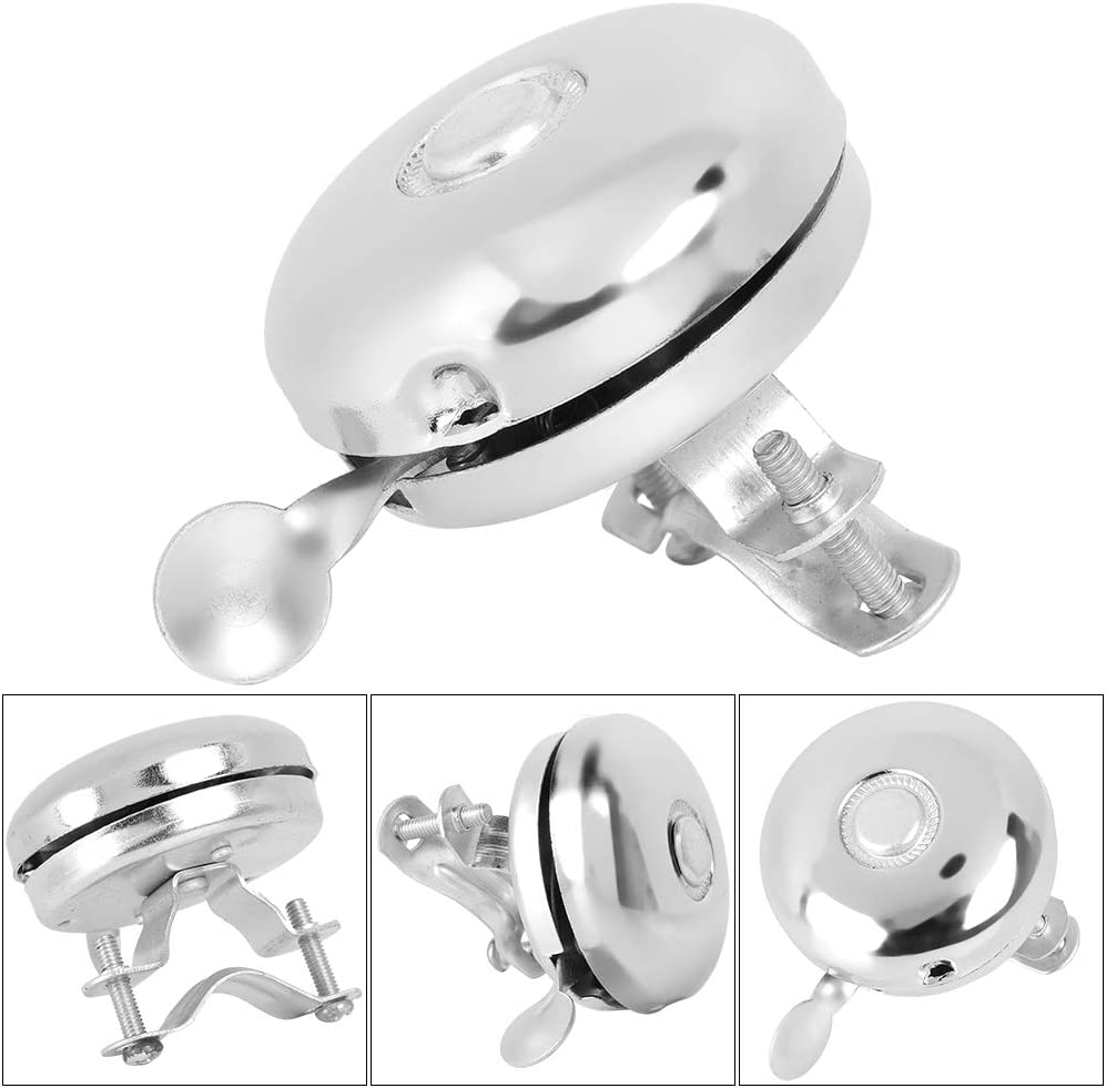 VGEBY1 Bike Bell,Classic Bicycle Bell Ring for Riding Safety Bike Accessory