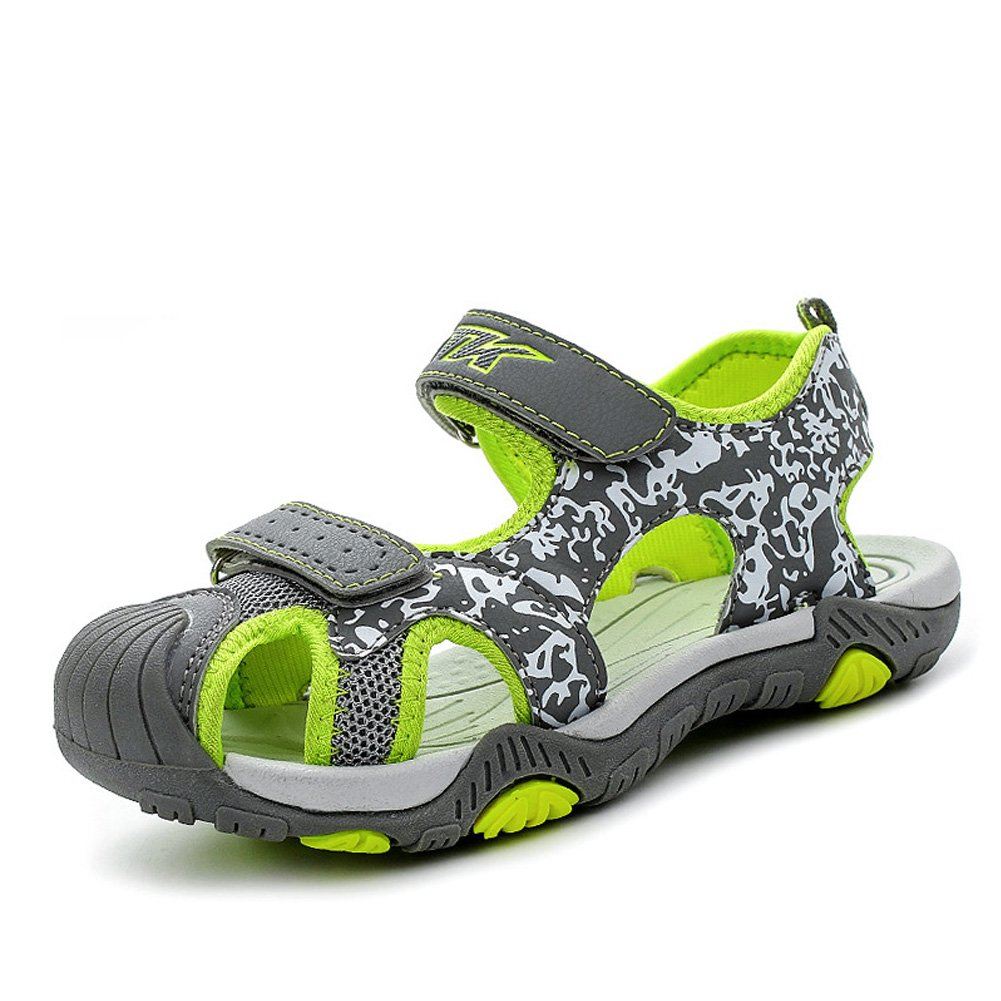 Littleplum Unisex Kid's Sport Water Sandals Summer Closed-Toe Athletic Kids Shoes(Toddler/Little Kid/Big Kid)