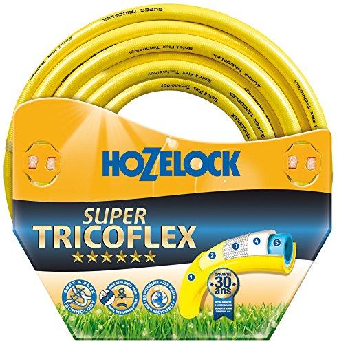 Hozelock Garten Schlauch Super Tricoflex Ultimate, Mehrfarbig, Ø 12,5 mm -100 Meter