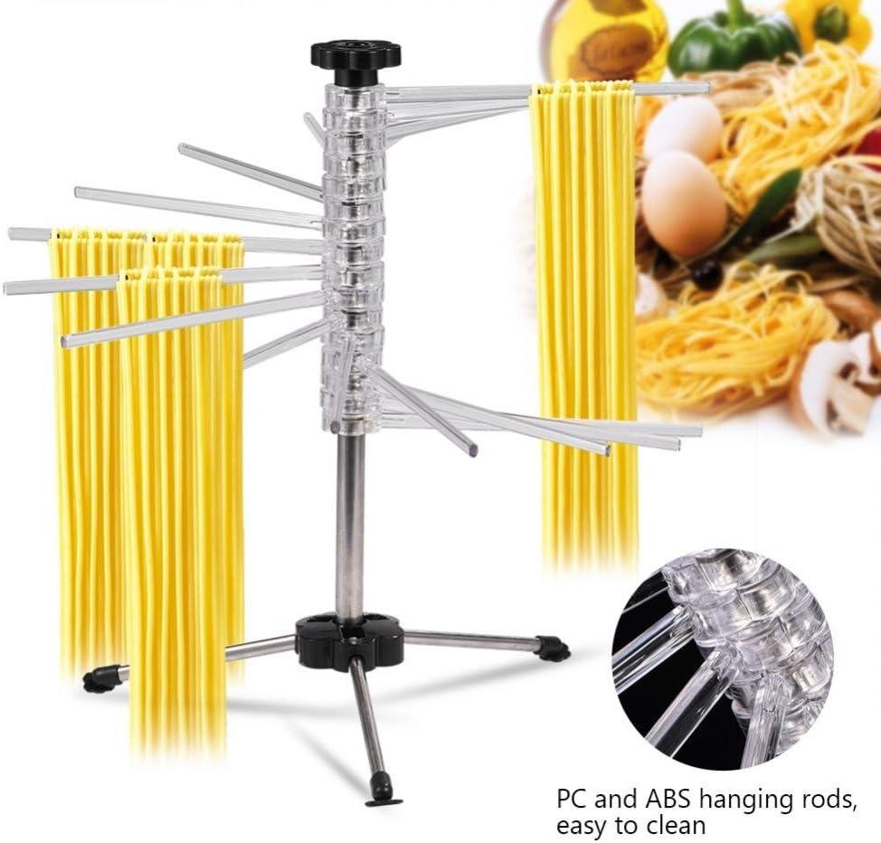 Stand di pasta,Stendino pieghevole per pasta per stendino per spaghetti Accessorio per appendere la tagliatella