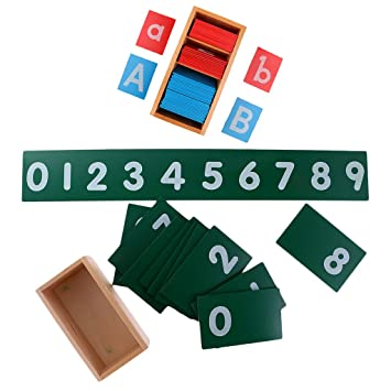 Montessori 9 De Blesiya Juguetes Alfabeti Arena0 Números LqzSMpjUVG