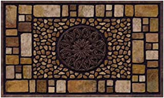 product image for Masterpiece Notre Dame Doormat, Brown, 18-Inch by 30-Inch