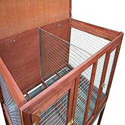 Ware Manufacturing HD Bunny and Rabbit Double Hutch