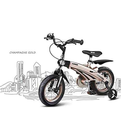 SJSF Y Bicicleta de Entrenamiento con Ruedas para niños, con Marco ...