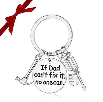 Bemomo Llavero de día del padre, llavero para papá Papa - si ...