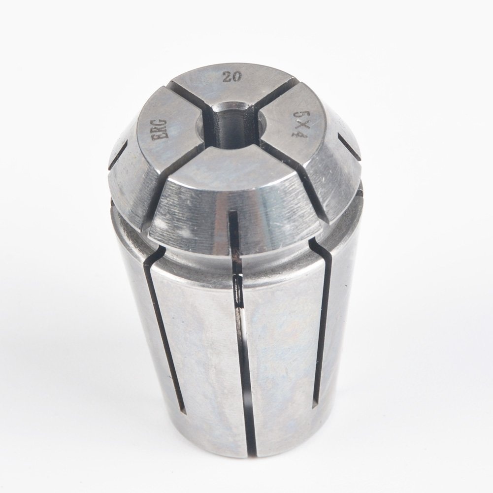 ERG20 5×4 Advanced Formula Spring Steel Collet Sleeve Tap,For Lathe CNC Engraving Machine & Lathe Milling Chuck