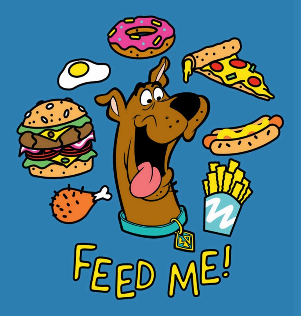 5D DIY Diamond Painting Kits Scooby Doo Feed Me Celebrate Joy Full Drill Painting Arts Craft Canvas for Home Wall Decor Full Drill Cross Stitch Gift 16X12 Inch