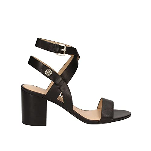 it Black Donna Leather Tacco Cm Najya 36Amazon Guess 7 Sandalo m0nONwv8