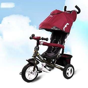 Carrito de bebé Niños Triciclo, 1-3 años de Edad ...