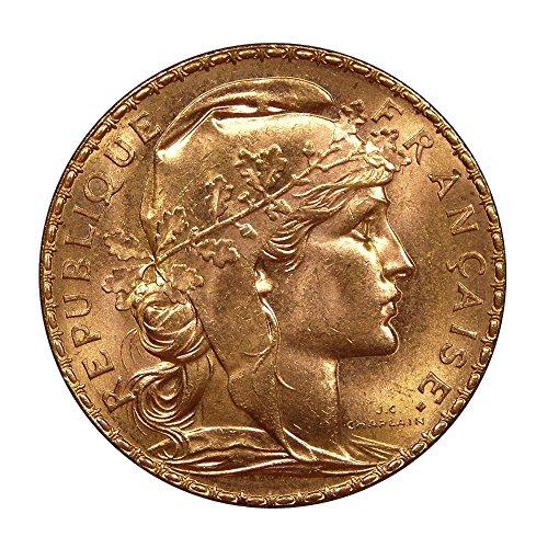 20 Franc Rooster - 1899-1914 France