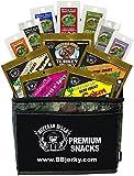 Buffalo Bills 12-Piece Beef Jerky Sampler Camo 6-Pack Gift Cooler (12 assorted 1.5oz jerky packs)