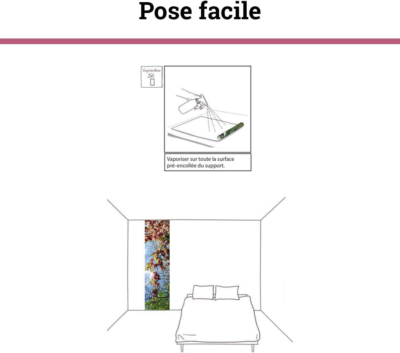 D/éco murale Qualit/é HD Scenolia Poster vertical d/éco MIND THE BUS 60 x 240 cm
