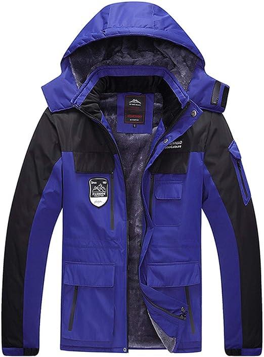 防水厚手の暖かい冬のメンズフリースジャケット大型7XL 8XLアノラック男性のコートキルトフード付きウインドブレーカーカジュアルメンズパーカー