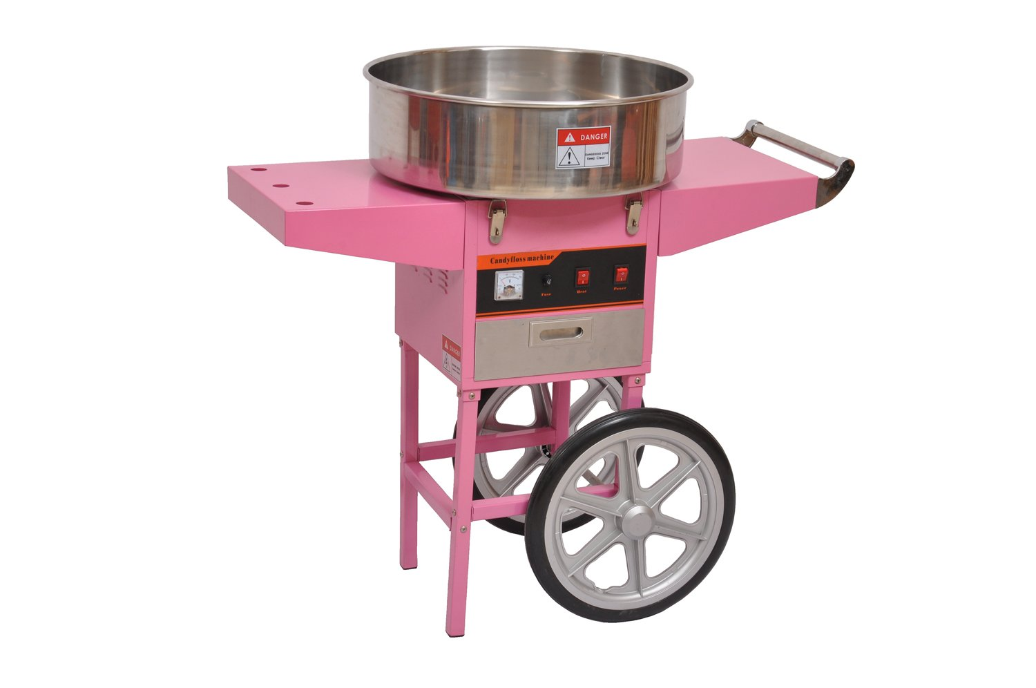 Electric Cotton Candy Machine With Cart For Party