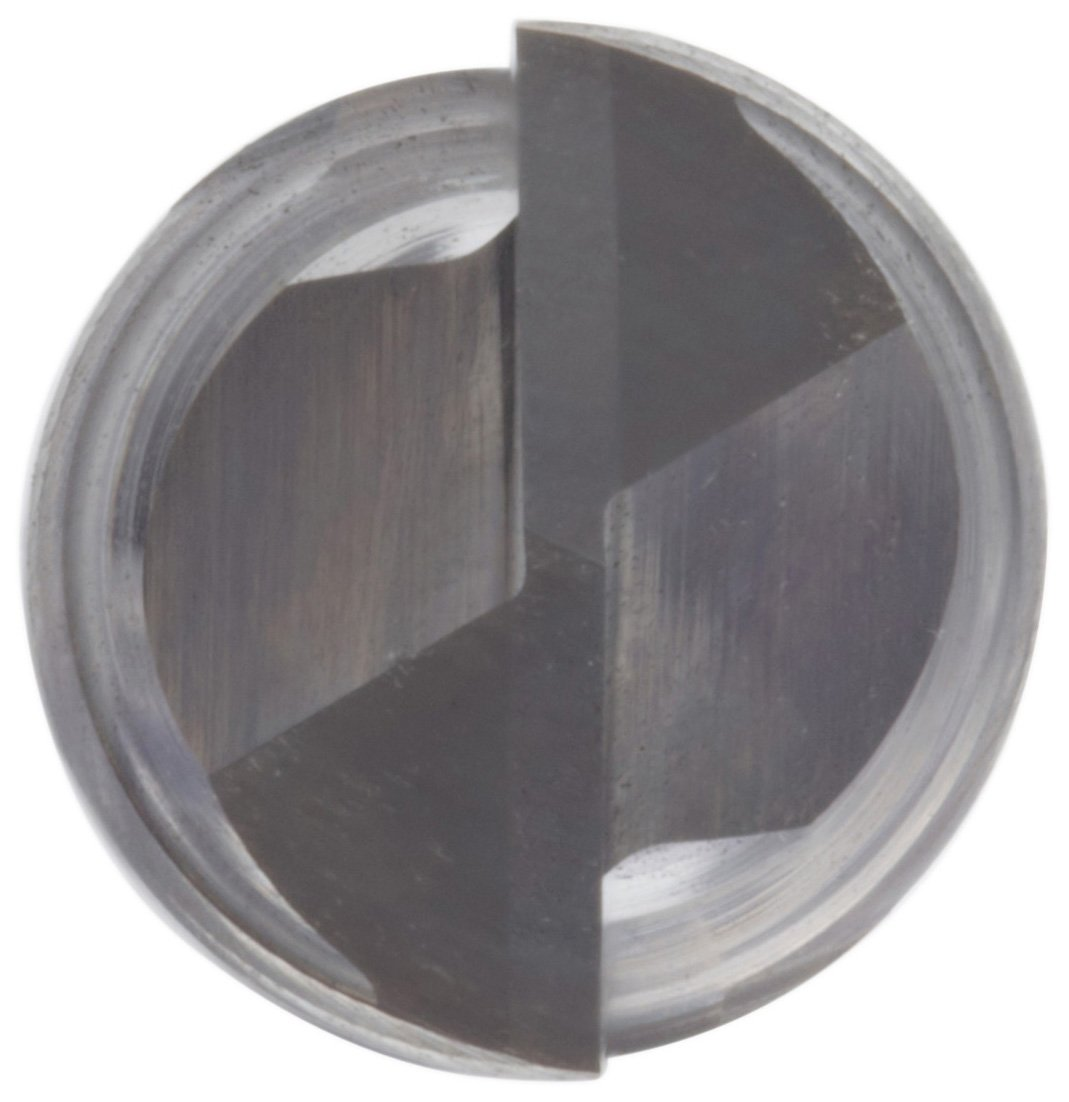 2 Flutes Uncoated 0.025 Cutting Diameter 1.5 Overall Length Bright Finish 30 Deg Point Angle 0.125 Shank Diameter Melin Tool AMG-DP Carbide Micro Drill Mill