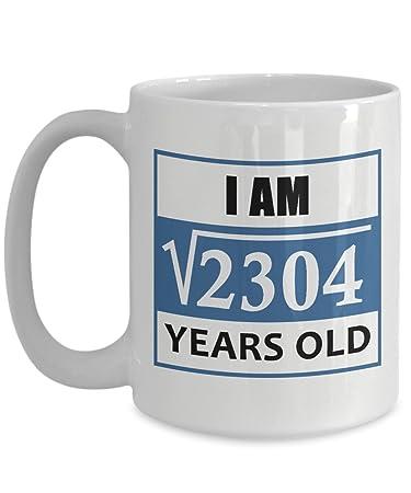 48th Birthday Gift For Men Mug 15 Oz
