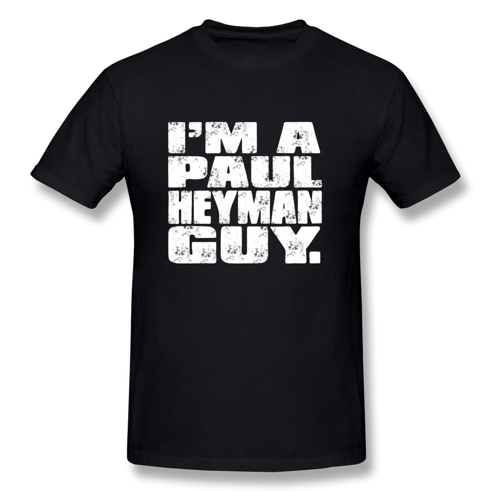 Jiaso Men's Im Paul Heyman Guy T-Shirt