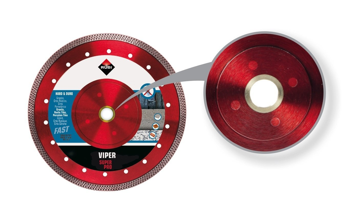 Rubi Tools Viper 8'' Wet Diamond Blade USA Ref.31940