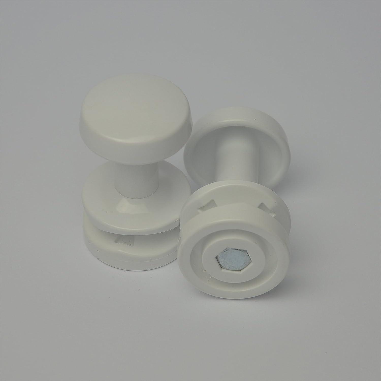 Extra Hanger for Heated Towel Rail Radiator Bath Robe Hook Clip Pair Peg (Black) Companyblue