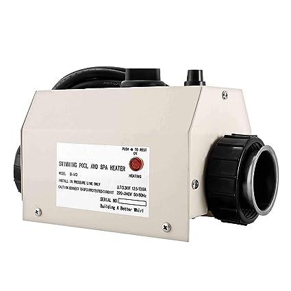 Amazon.com: Happybuy - Termostato eléctrico de 3 KW, 220 V ...