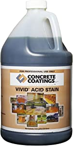 VIVID Acid Stain – 1 Gal – Coffee