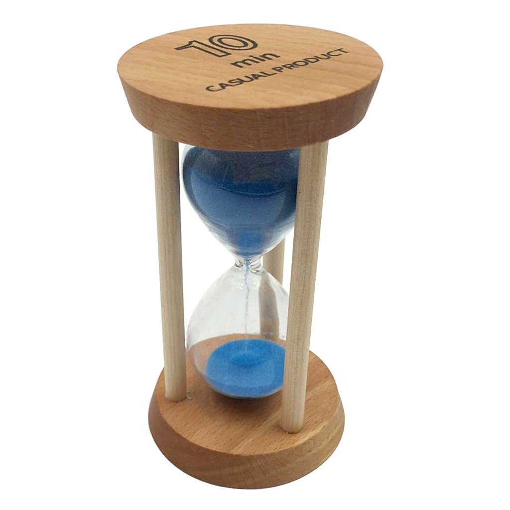Homyl 10 Mins Reloj de Arena Temporizador de Cocina Juguete de Aprendizaje de Tiempo para Niños - Azul: Amazon.es: Hogar