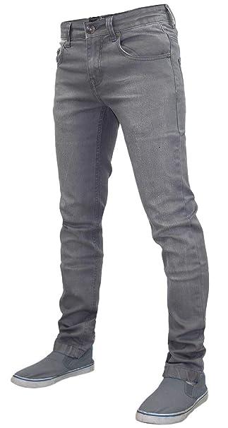ac922993e92 Mens G72 Emporio 7 Denim Super Stretch Skinny Slim FIT Jeans All Waist Leg   Amazon.co.uk  Clothing