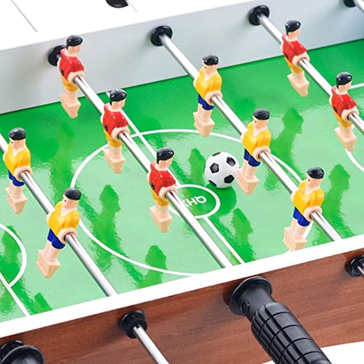 Wujiancheng-apparel Futbolín For Adultos niños Deportes de Mesa Mesa de Fútbol Sala Fútbol Mesa de Juego para los Adultos, niños - Fútbol Mano recreativa p (Color : Green, Size : 36.3x26x10.5cm): Amazon.es: