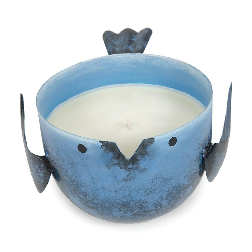 Zingz and Thingz Coastal Water Birdie Candle