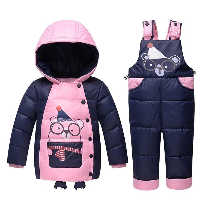 Invierno bebé Niño Down Chaquetas Niños Snowsuit Niño Trajes Niño traje de esquí muchacho abajo Chaqueta